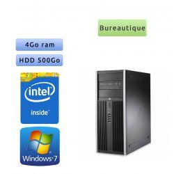 Lot de 10 x Tour HP - Windows 7 - Double Coeur 4GB 500GB - PC Tour Bureautique Ordinateur