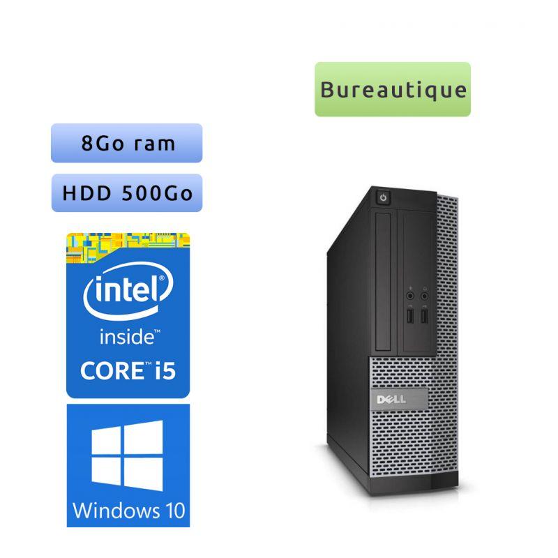 Lot de 50 x Dell Optiplex Core I5 - Windows 10 - Core I5 8GB 500GB - Ordinateur Tour Bureautique PC