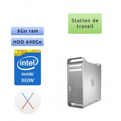 Apple Mac Pro Eight Core Xeon 2.26Ghz A1289 (EMC 2314) - Station de Travail