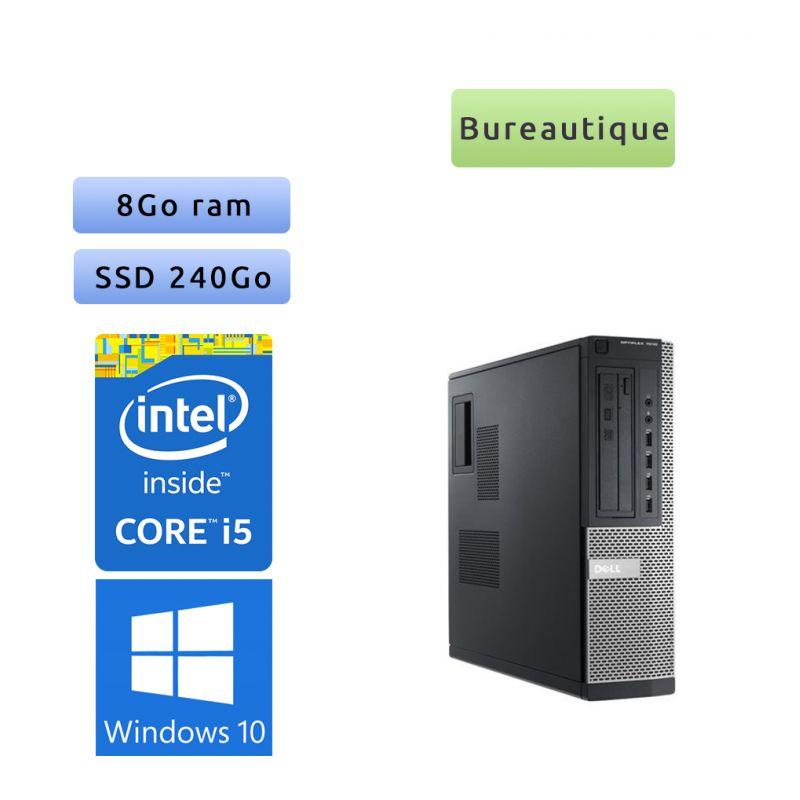 Dell Optiplex 7010 SFF - Windows 10 - i5 8Go 240Go SSD - Ordinateur Tour Bureautique PC
