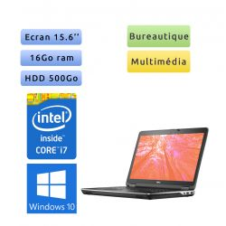 Dell Latitude E6540 - Windows 10 - i7 16Go 500Go - 15.6 - Ordinateur portable