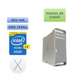 Apple Mac Pro Quad Core A1186 (EMC 2113) 2x 2.66GHz - MacPro1,1 - Station de Travail