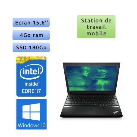 Lenovo ThinkPad L540 - Windows 10 - i7 4Go 180Go SSD - 15.6 - Workstation Ordinateur Portable PC