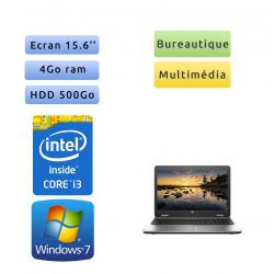HP ProBook 650 G2 - Windows 7 - i3 4Go 500Go - 15.6 - Webcam - Ordinateur Portable PC - bureautique