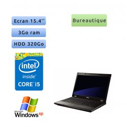 Dell Latitude E5510 - Windows XP - Port série - i5 3Go 320Go - 15.4 - Ordinateur Portable PC