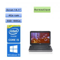 Dell Latitude E5430 - Windows 10 - i5 4Go 180Go SSD - 14.1 - Webcam - Ordinateur Portable PC