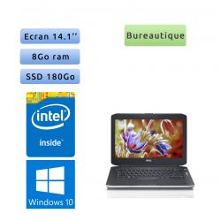 Dell Latitude E5430 - Windows 10 - B840 4Go 180Go SSD - 14.1 - Webcam - Ordinateur Portable PC