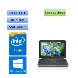 Dell Latitude E5430 - Windows 10 - B840 8Go 500Go SSD - 14.1 - Webcam - Ordinateur Portable PC