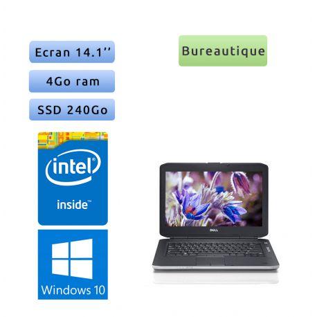 Dell Latitude E5430 - Windows 10 - 1005M 4Go 240Go SSD - 14.1 - Webcam - Ordinateur Portable PC