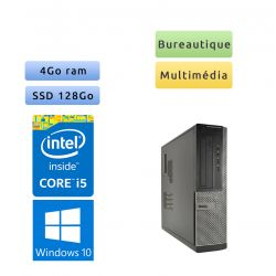 Dell Optiplex 3010 DT - Windows 10 - i5 4Go 128Go SSD - Ordinateur Tour Bureautique PC