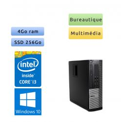 Dell Optiplex 790 SFF - Windows 10 - i3 4Go 256Go SSD - Ordinateur Tour Bureautique PC