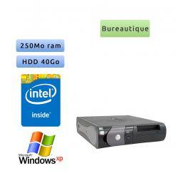 Dell Optiplex GX270 DT - Windows XP - 2.8Ghz 250Mo 40Go - port série - Ordinateur Bureautique