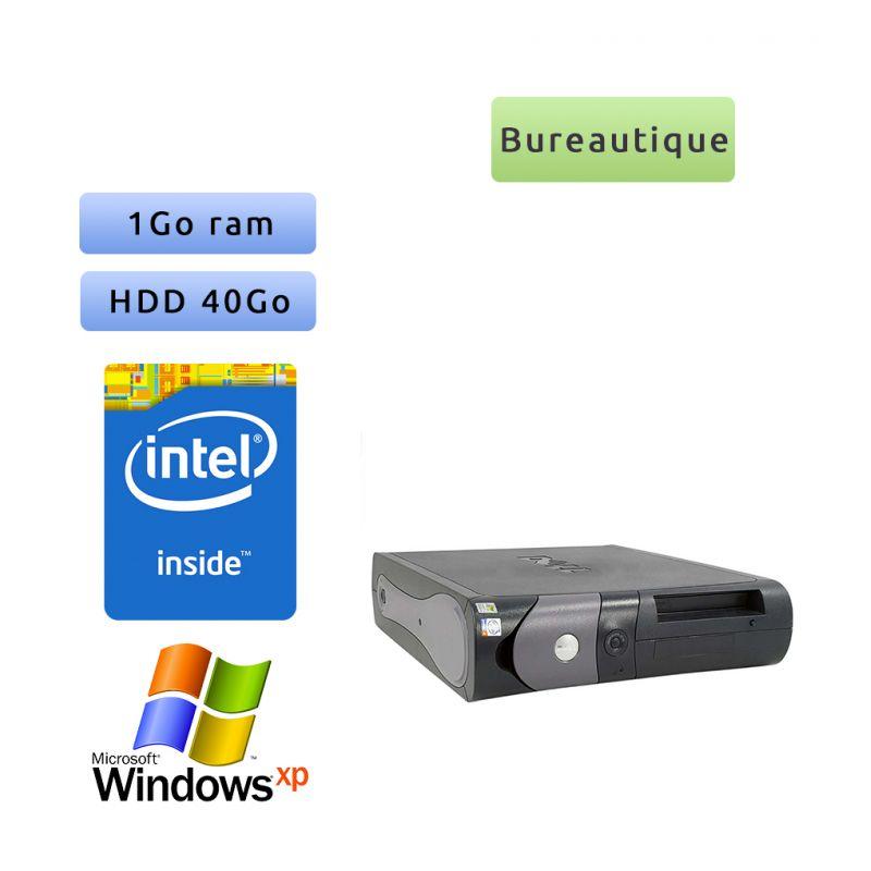 Dell Optiplex 170L - Windows XP - 2.4Ghz 1Go 40Go - Port Série et Parallèle - Ordinateur Bureautique Tour Occasion