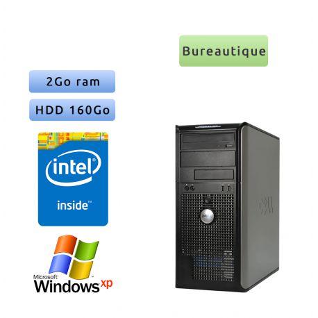 Dell Optiplex 780 MT - Windows XP - 2.93Ghz 2Go 160Go - Port Série et Parallèle - Ordinateur Tour Bureautique PC