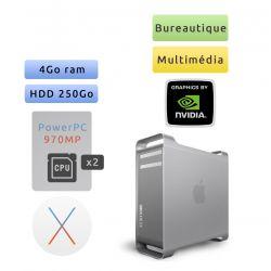 Apple Power Mac G5 A1117 (EMC 2023) M9592LL/A - Quad Core 2*2.5 GHz - Unité Centrale Multimédia