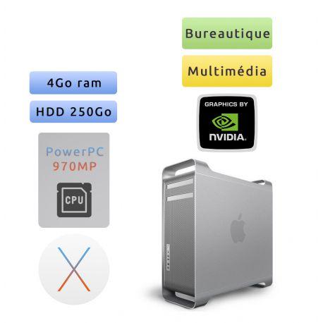 Apple Power Mac G5 A1117 (EMC 2023) M9590LL/A - Dual Core 2*2.0 GHz- Unité Centrale Multimédia