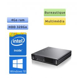 Lenovo ThinkCentre M73 Tiny - Windows 10 - 2.6Ghz 4Go 320Go - PC Tour Bureautique Ordinateur