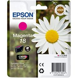 Epson 18 Pâquerette - Cartouche d'encre - Magenta - C13T18034012