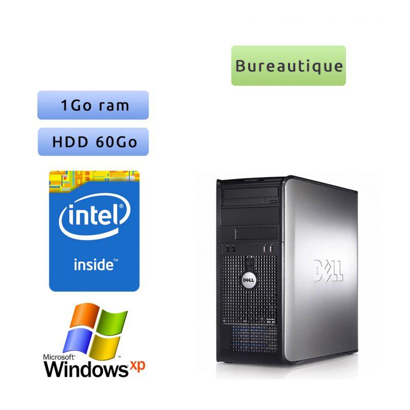 DELL Optiplex 360 - Windows xp - 2Ghz 1Go 60Go - port série et parallèle - Ordinateur Tour Bureautique