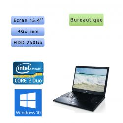 Dell Latitude E6500 - Windows 10 - 2.53 4Go 250Go - 15.4 - Ordinateur Portable PC