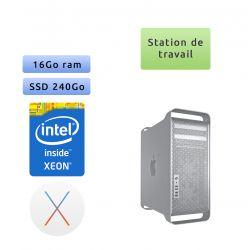 Apple Mac Pro Xeon 2.8Ghz A1289 (EMC 2314-2) - 16Go 240Go SSD - MACPRO5.1 - Station de Travail