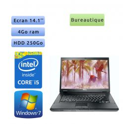 Dell Latitude E5410 - Windows 7 - i5 4Go 250Go - 14.1 - Grade B - Ordinateur Portable PC