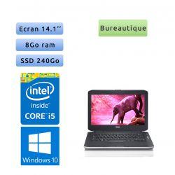 Dell Latitude E5430 - Windows 10 - i5 8Go 240Go SSD - 14.1 - Webcam - Ordinateur Portable PC