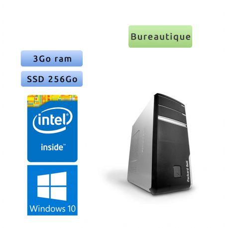 Packard Bell iMedia D2630 - Windows 10 - 2.5Ghz 3Go 256Go SSD - Ordinateur Tour Bureautique PC