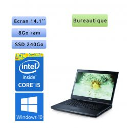 Dell Latitude E6410 - Windows 10 - i5 8Go 240Go SSD - 14.1 - Ordinateur Portable PC