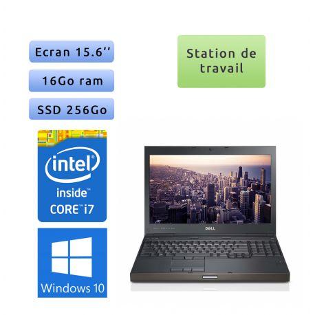 Dell Precision M4600 - Windows 10 - i7 16Go 256Go SSD - 15.6 - Station de Travail Mobile