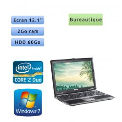 Dell Latitude D430 - Windows 7 - C2D 2GB 60GB - 12.1 - Ordinateur Portable