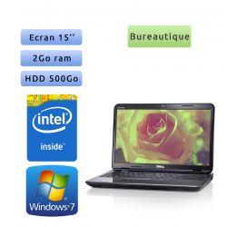 Dell Inspiron N5050-8956 - Windows 7 - Webcam - DC 2GB 500GB - 15 - Ordinateur Portable PC