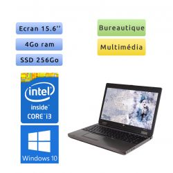 HP ProBook 6560b - Windows 10 - i3 4Go 256Go SSD - 15.6 - Webcam - Grade B - Ordinateur Portable PC
