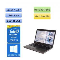 HP ProBook 6560b - Windows 10 - i3 4Go 256Go SSD - 15.6 - Webcam - Grade B - Ordinateur Portable PC