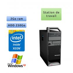 Lenovo ThinkStation S20 TW - Windows XP - W3505 2GB 250GB - Ordinateur Tour Workstation PC
