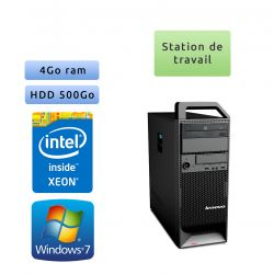 Lenovo ThinkStation S20 TW - Windows 7 - W3505 4GB 500GB - Ordinateur Tour Workstation PC