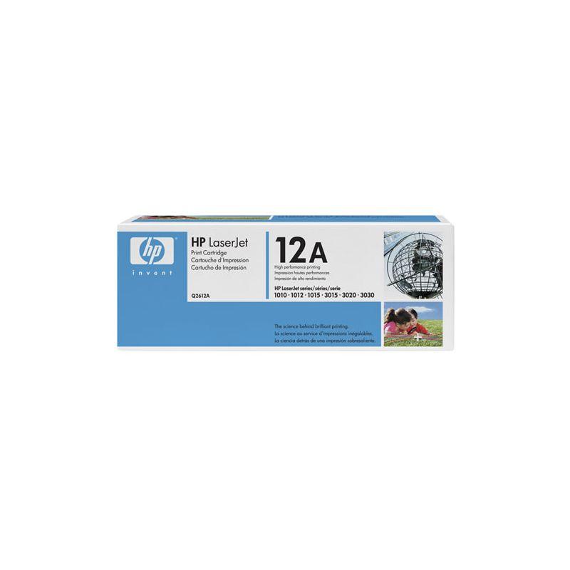 HP LaserJet - Q2612A - Cartouche toner - Noir