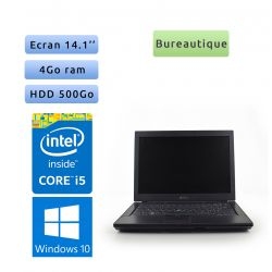 Dell Latitude E6410 - Windows 10 - i5 4Go 500Go - 14.1 - Grade B - Ordinateur Portable PC