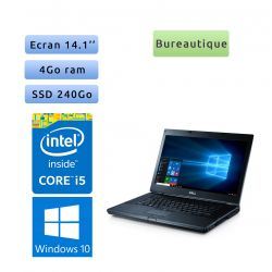 Dell Latitude E6410 - Windows 10 - 4Go 240Go SSD - 14.1 - Grade B - Ordinateur Portable PC