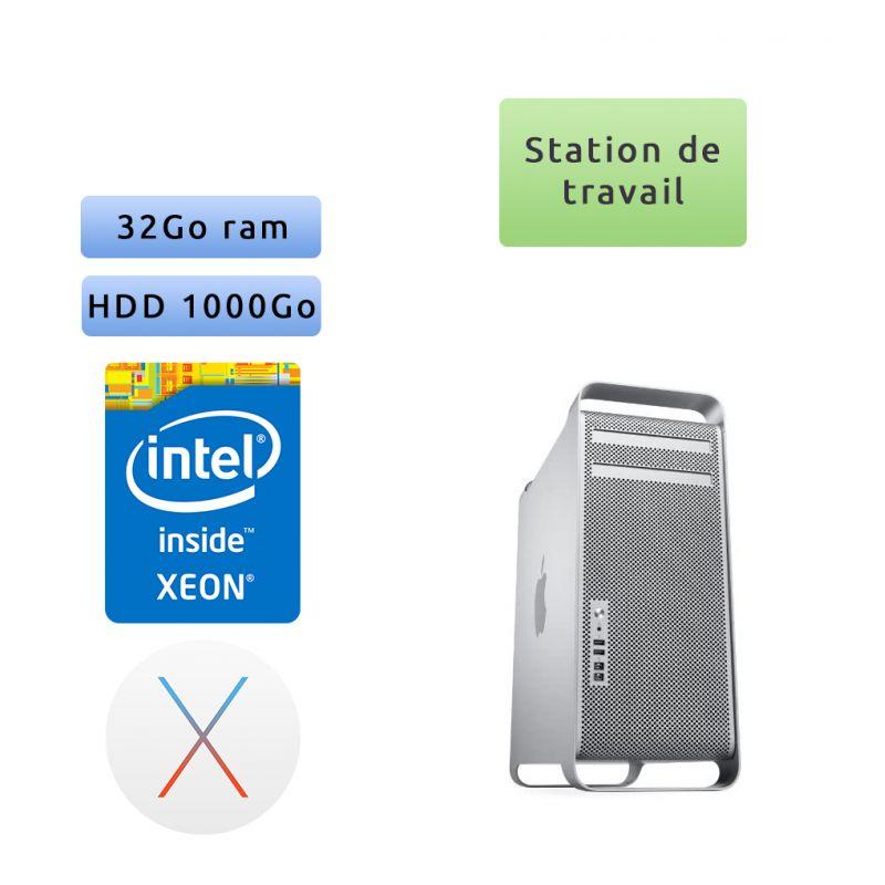 Apple Mac Pro Quad Core Xeon 3.2Ghz A1289 ( EMC 2629) 32Go 1To - MacPro5.1 - mi 2012 - Station de Travail