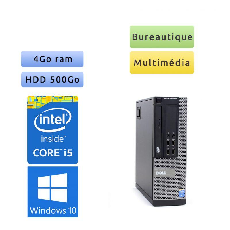 Dell Optiplex 9020 SFF - Windows 10 - i5 4Go 500Go - Port Serie - Ordinateur Tour Bureautique PC