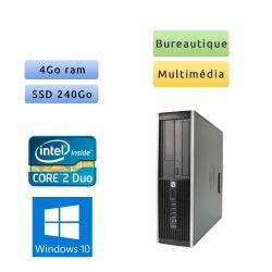 HP 8000 Elite SFF - Windows 10 - 3.0Ghz 4Go 240Go SSD - Port Serie - PC Tour Bureautique Ordinateur
