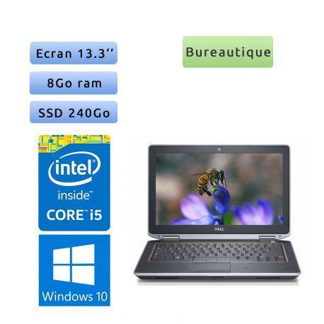 Dell Latitude E6320 - Windows 10 - i5 8Go 240Go SSD - 13.3 - Ordinateur Portable PC