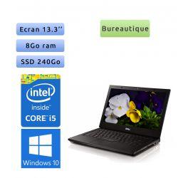 Dell Latitude E4310 - Windows 10 - i5 8Go 240Go SSD - 13.3 - Webcam - Ordinateur Portable PC