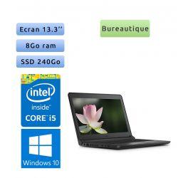 Dell Latitude 3340 - Windows 10 - i5 8Go 240Go SSD - 13.3 - Webcam - Ordinateur Portable PC