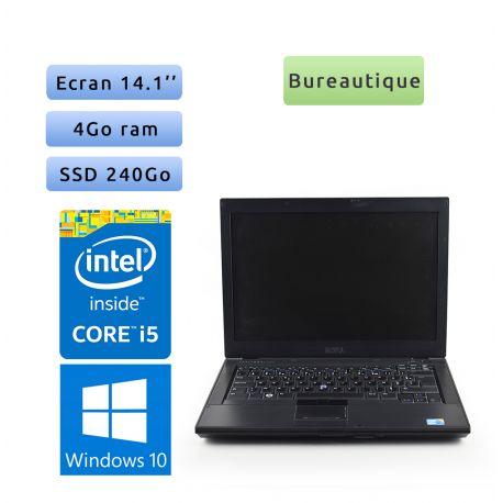 Dell Latitude E6410 - Windows 10 - i5 4Go 240Go SSD - 14.1 - Grade B - Ordinateur Portable PC