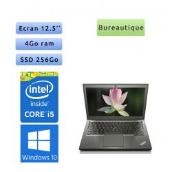 Lenovo ThinkPad X240 - Windows 10 - i5 4Go 256Go SSD - 12.5 - Webcam - Ordinateur Portable PC