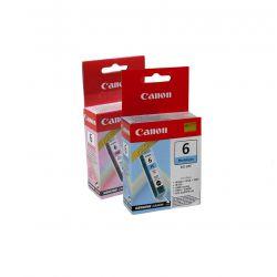Lot 2 Cartouches d'encres photos Canon - Cyan BCI-6PC - Magenta BCI-6PM