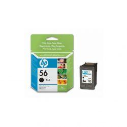 HP - Cartouche d'impression 56 Noir - C6656AE