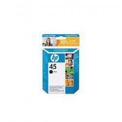 HP - Cartouche d'impression 45 Noir - 51645JE